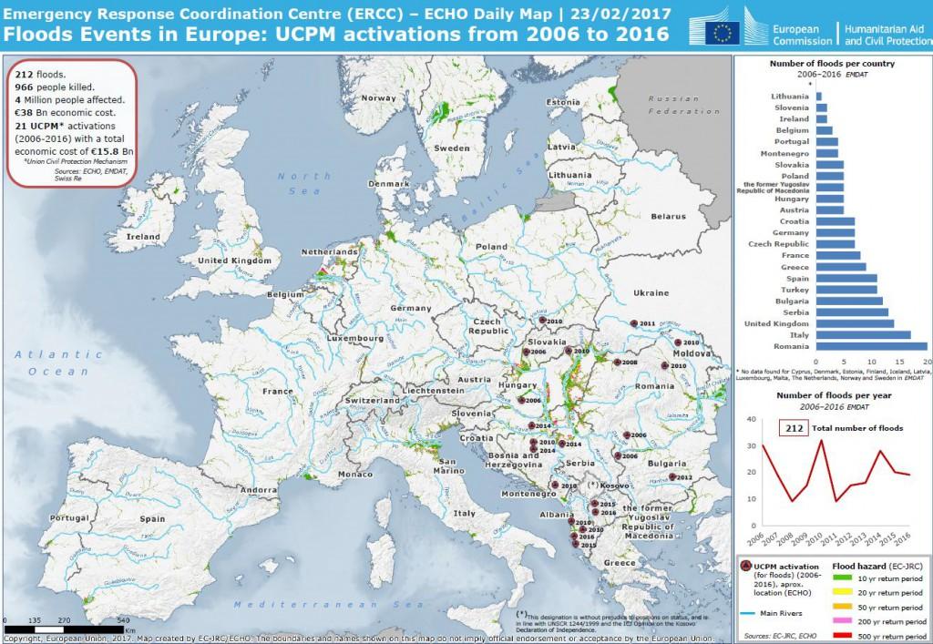 Ciekawa mapa od Emergency Response Coordination Centre (ERCC)