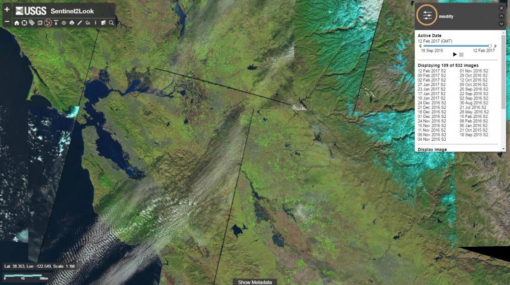 Nowa przeglądarka zdjęć Sentinel-2