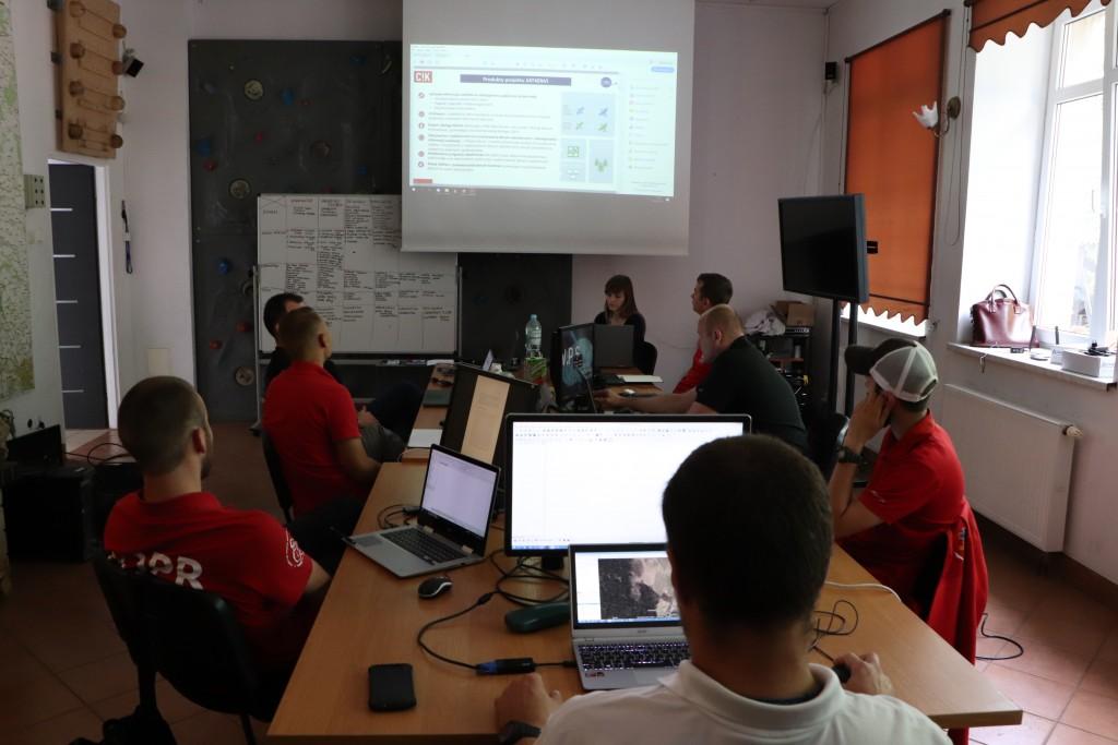 Szkolenie dla ratowników Grupy Jurajskiej GOPR