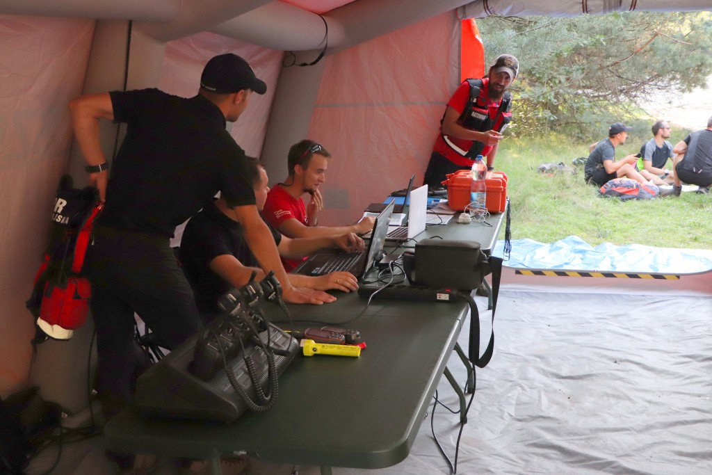 Workshop with the Jura Group of the Mountain Volunteer Search and Rescue