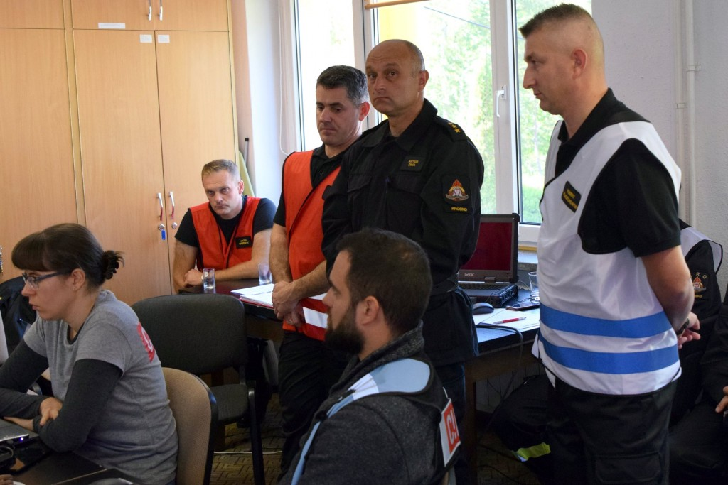"""Exercise of the State Fire Service """"Lesko 2019"""""""